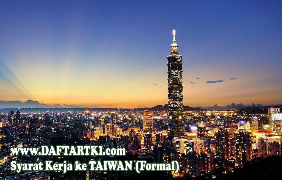 LOWONGAN KERJA TAIWAN